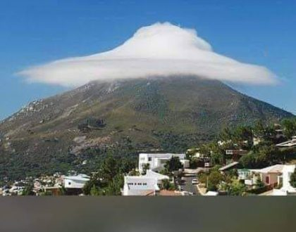 Miracle of the Cloud on Mt Tabor, Israel
